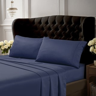 Egyptian Cotton 500 Thread Count Extra Deep Pocket 6-Piece Bed Sheet Set