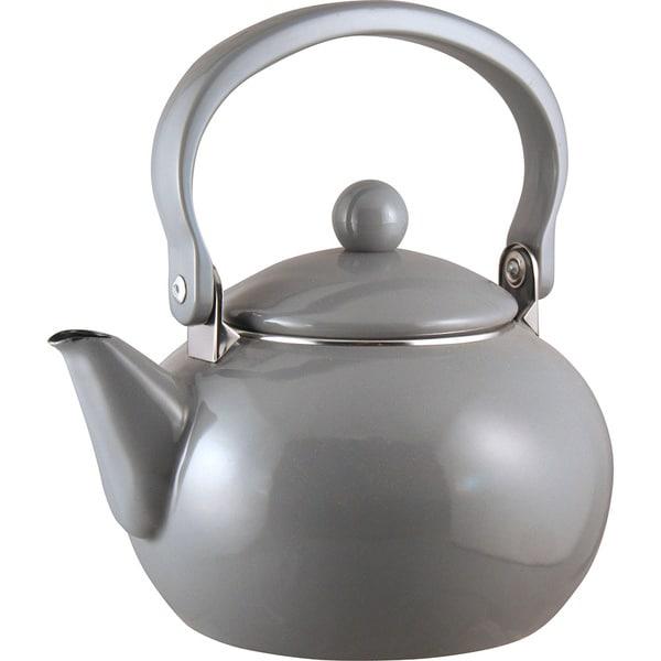 Reston Lloyd Harvest 2-quart Grey Teapot