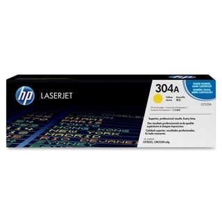HP 304A (CC532AG) Yellow Original LaserJet Toner Cartridge for US Gov