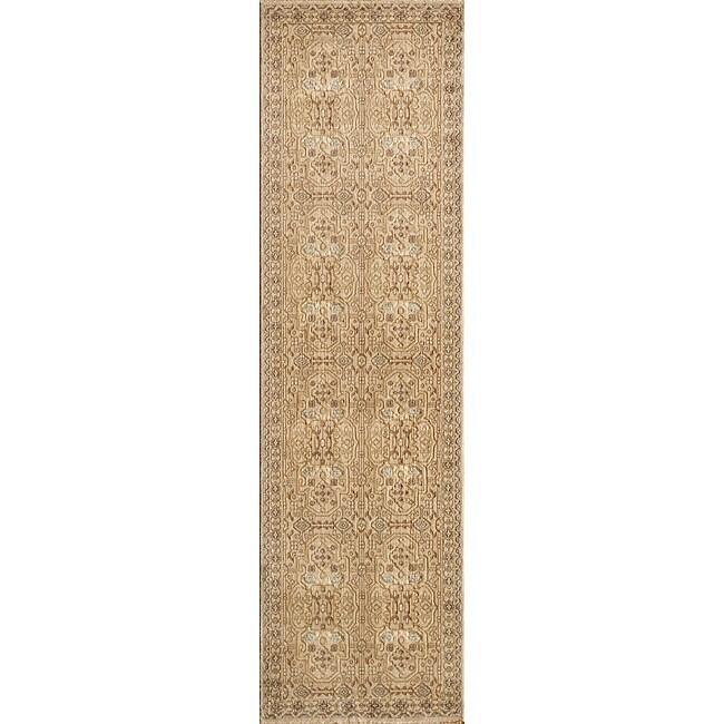 Preston Ivory Agra Rug (2'3 x 7'6)