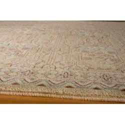 Preston Ivory Agra Rug (7'10 x 9'10)
