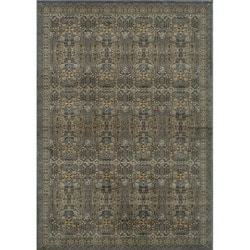 Preston Blue Agra Rug (5'3 x 7'6)
