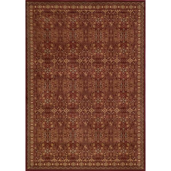 Preston Red Agra Rug (2'3 x 7'6)