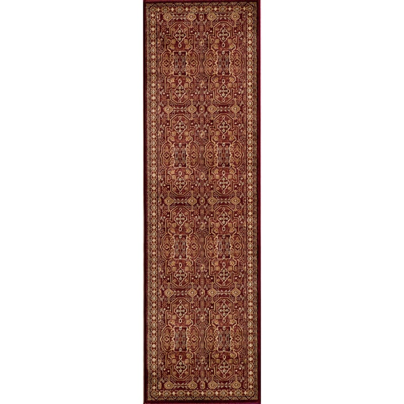 Preston Red Agra Rug (2'3 x 7'6)