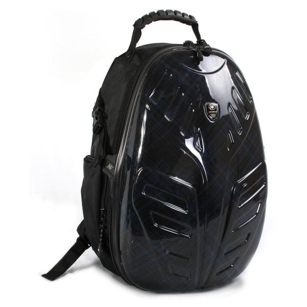 J World 'Eagle' Blue Cross 18-inch Polycarbonate PC Tablet Backpack