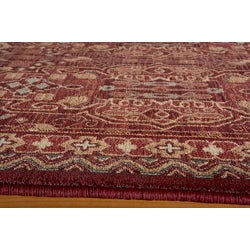 Preston Red Agra Rug (7'10 x 9'10)