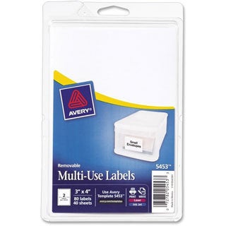 Avery Print or Write Removable Multi-Use Labels-
