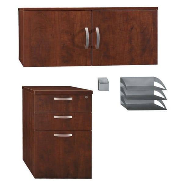 Bush Office-In-An-Hour 4-piece Storage/ Accessory Kit