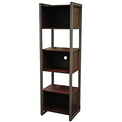 St. Croix Values Cherry Tall Shelving Unit