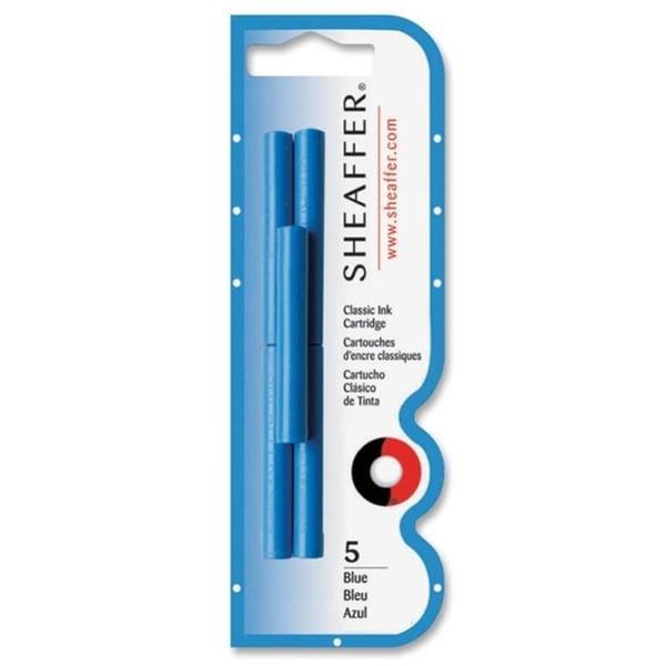 Blue Sheaffer Skrip Ink Cartridges- Blue- 5/Pack