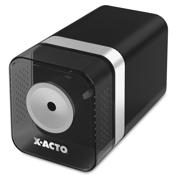 Black X-ACTO Heavy-Duty Desktop Electric Pencil