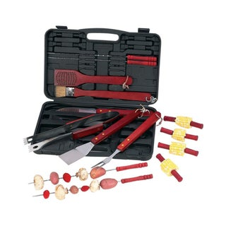 Chefmaster 19-piece Barbecue Tool Set with Case