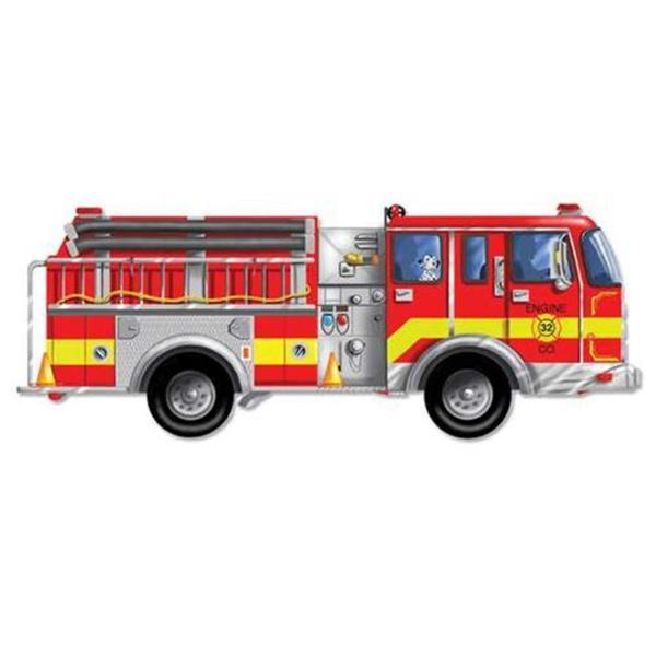 Melissa & Doug Giant Fire Truck 24-piece Floor Puzzle