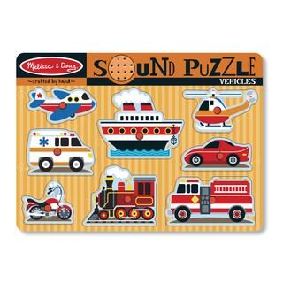 Mellisa n Doug Vehicles Sound Puzzle
