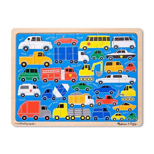 Melissa & Doug 'Beep Beep' 24-piece Jigsaw Puzzle