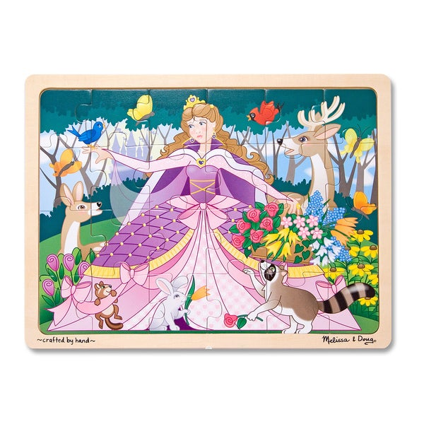 Melissa Amp Doug Woodland Princess 24 Piece Jigsaw Puzzle