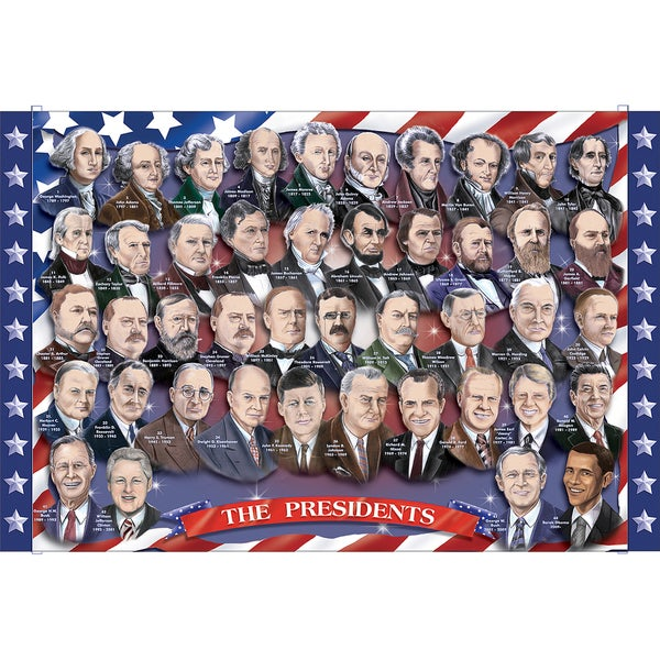 Melissa & Doug President of the USA Floor Puzzle