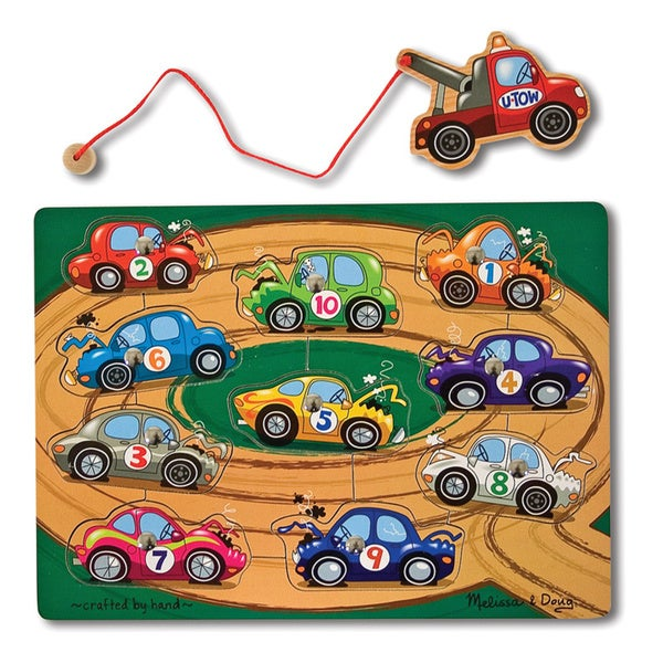 Mellisa n Doug Tow Truck Magnetic Puzzle Game