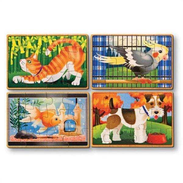 Melissa & Doug Pets Puzzles in a Box