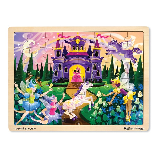 Mellisa n Doug Fairy Fantasy Jigsaw Puzzle- 48 pc 7997324