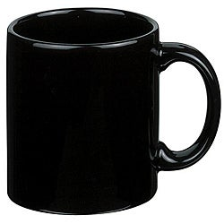 Waechtersbach Fun Factory Black Mugs (Pack of 4)