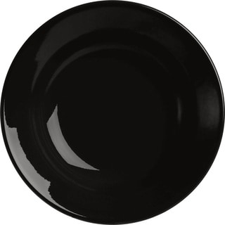 Waechtersbach Fun Factory Black Soup Plates (Set of 4)