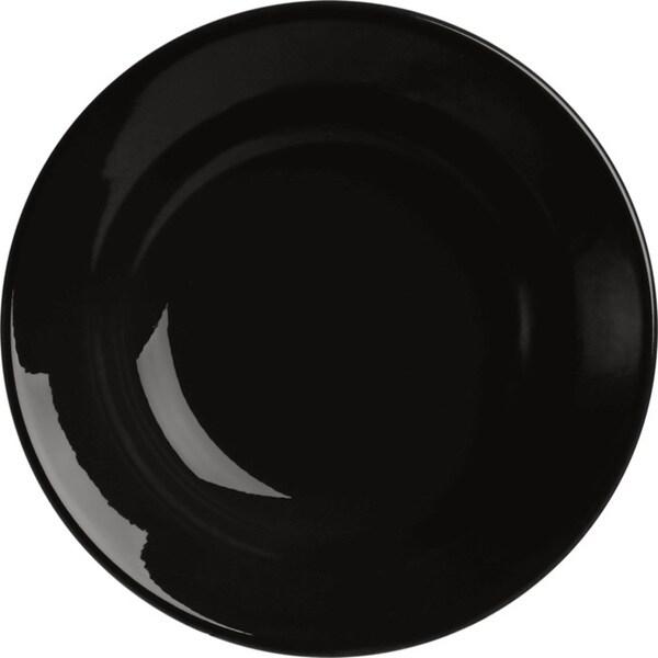 Waechtersbach Fun Factory Black Soup Plates (Set of 4)