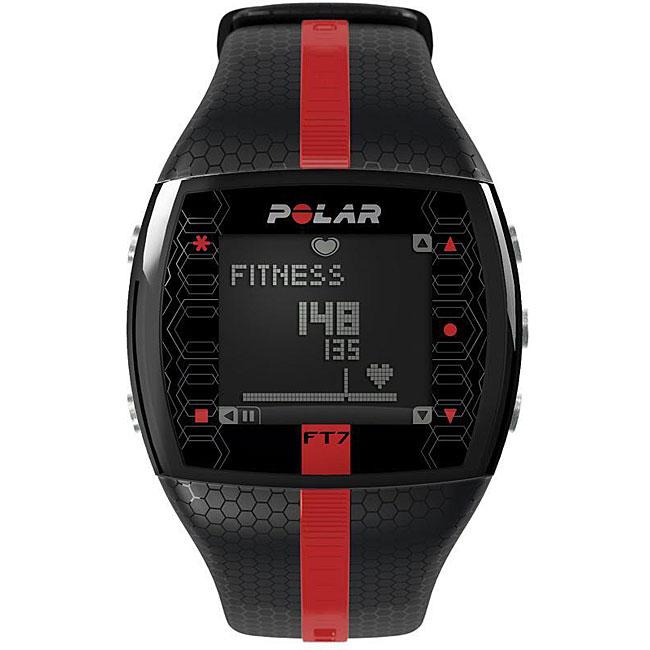 Polar Men's FT7MR Black/ Red Heart Rate Monitor