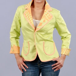 Clara S Women's Reversible 3/4-sleeve Jacket