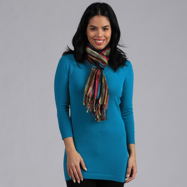 Amtal Multi-color Striped Scarf