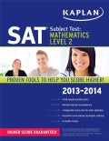 Kaplan SAT Subject Test: Mathematics Level 2 2013-2014 (Paperback)