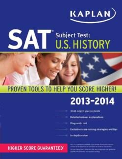 Kaplan SAT Subject Test: U.S. History 2013-2014 (Paperback)