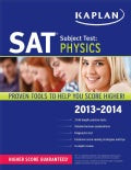 Kaplan SAT Subject Test: Physics 2013-2014 (Paperback)
