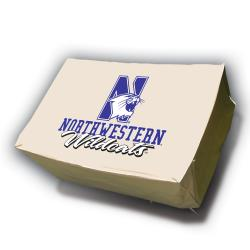 NCAA Northwestern Wildcats Rectangle Patio Set Table Cover