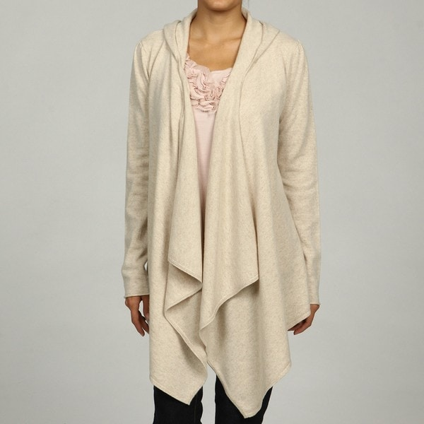 Oliver & James Women's Cashmere Hooded Cascade Sweater FINAL SALE
