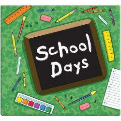 Green School Days Album (12 x 12)