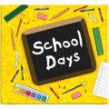 Yellow School Days Album (12 x 12)