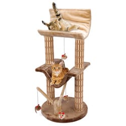 Cat Life Multi-level Lounger with Treepost
