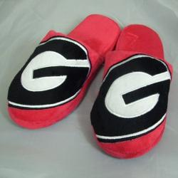 Georgia Bulldogs Big Logo Slippers