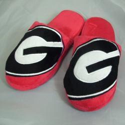 NCAA Georgia Bulldogs Big Logo Slippers