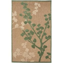 Woven Beacon Indoor/Outdoor Floral Rug (8'8 x 12')
