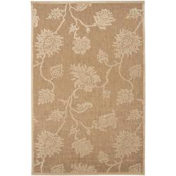 Woven Brookline Indoor/Outdoor Floral Rug (3'9 x 5'8)