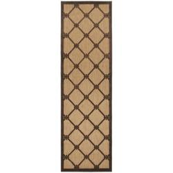 Woven Dorchester Indoor/Outdoor Geometric Rug (2'6 x 7'10)