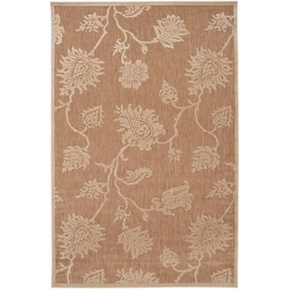"Woven Brookline Indoor/Outdoor Floral Area Rug - 8'8"" x 12'"