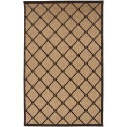 Woven Dorchester Indoor/Outdoor Geometric Rug (5' x 7'6)