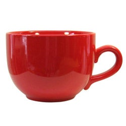 Waechtersbach Fun Factory Red Jumbo Cups (Set of 4)
