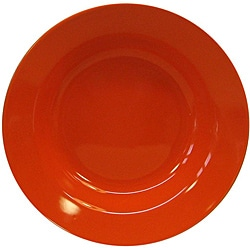 Waechtersbach Fun Factory Orange Soup Plates (Set of 4)