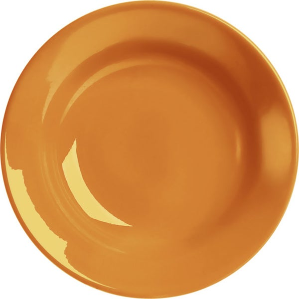 Waechtersbach Fun Factory Orange Soup Plates (Set of 4)