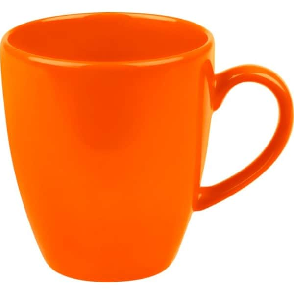 Waechtersbach Fun Factory Orange Jumbo Cafe Latte Cups (Set of 4) 8001990