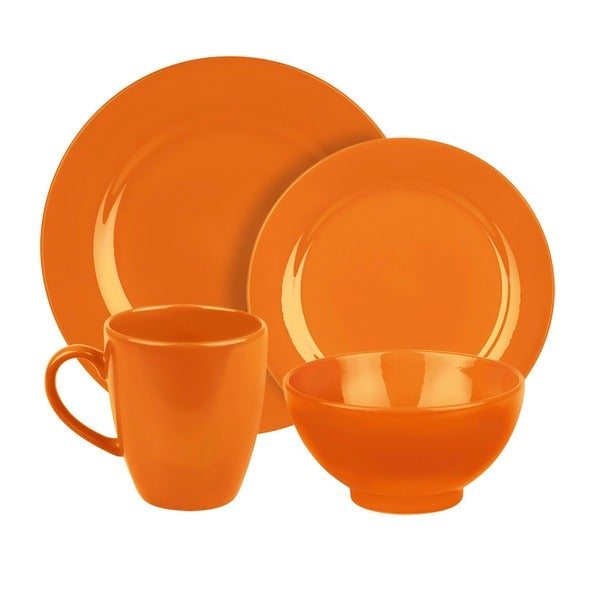 Waechtersbach Fun Factory Orange 4-piece Place Setting 8001995